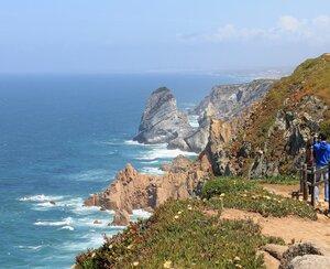 Португалия. Мыс Рока - западная точка Европы. Portugal. Cabo da Roca - western point of Europa
