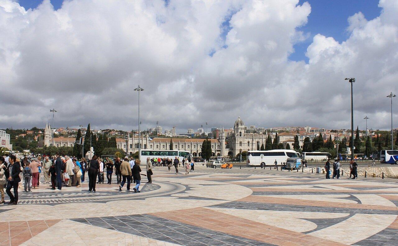 Лиссабон. Площадь Открытий