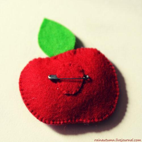 Фруктово-ягодные брошки. Мария Логинова.