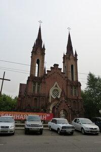 Католический храм в Красноярске