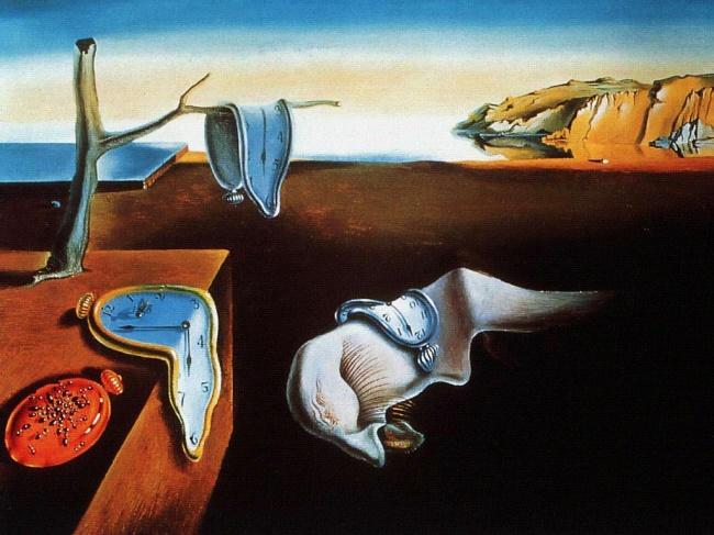Сальвадор Дали, « Постоянство памяти », 1931. Несекрет, что мысли, посещавшие Дали вовремя создани