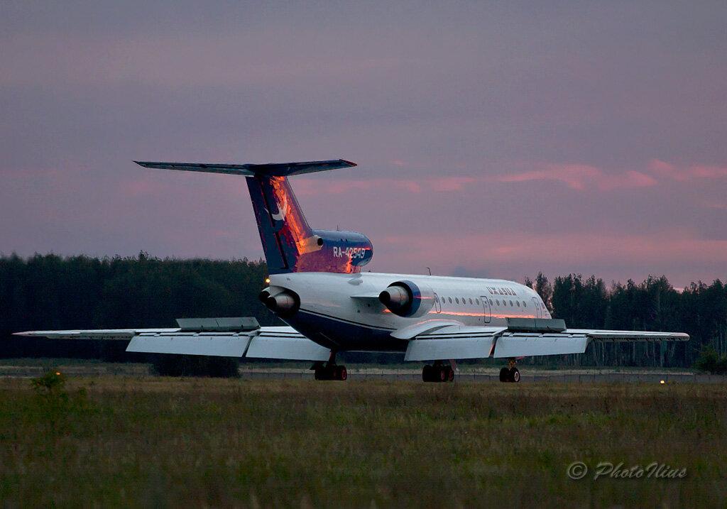 Открытие международного рейса по направлению Челябинск - Баку.