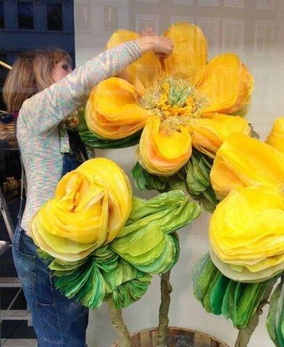 Удивительные бумажные цветы Марианне Эриксен Скотт-Хансен