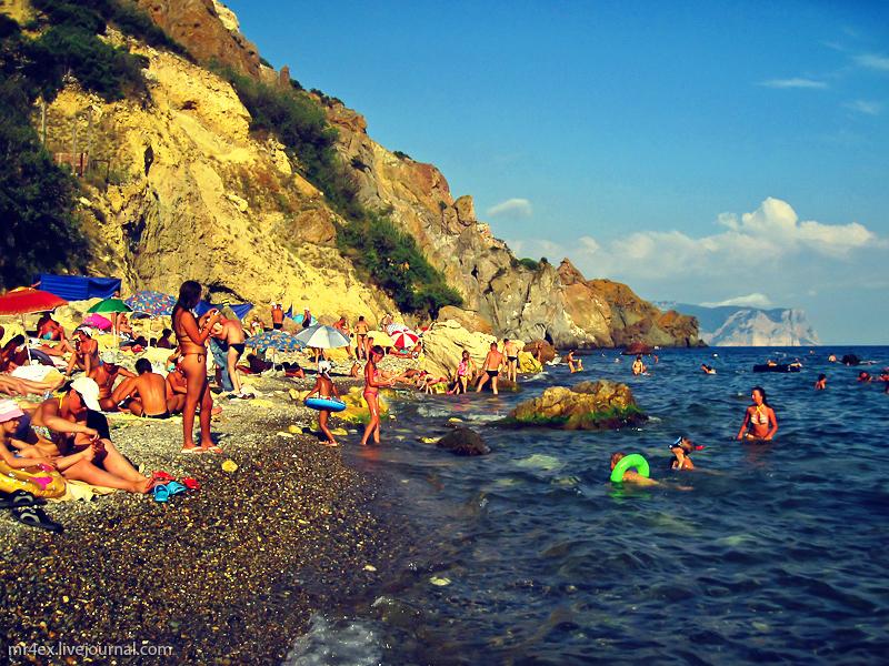 пляж мыс фиолент фото