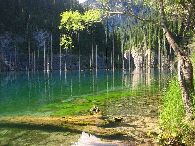 озеро каинды фото