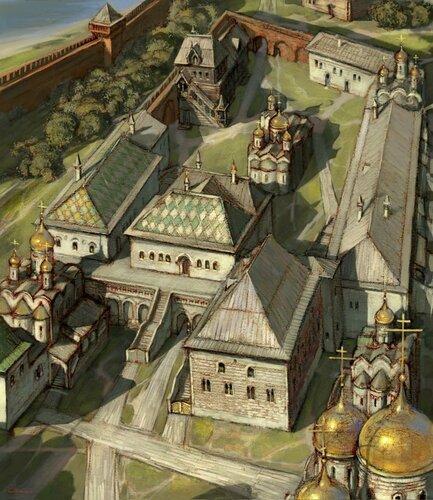 Государев двор в 16 веке