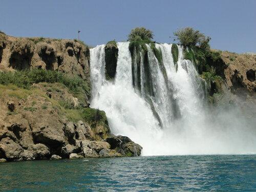 Водопад Анталии Карпуз Калдаран.