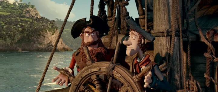 ������! ����� ����������� / The Pirates! Band of Misfits (2012) HDRip | ��������  1.37 GB