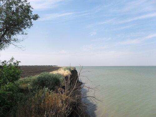 В походе, август 2012, Азовское побережье