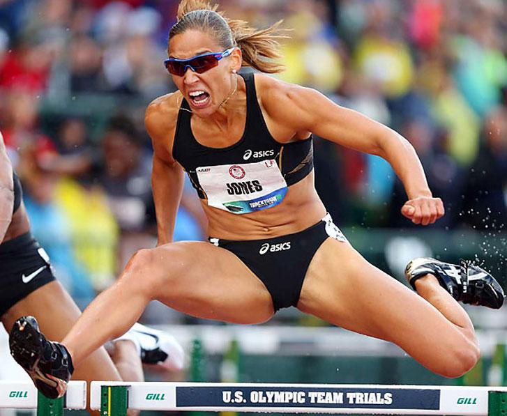 Американская легкоатлетка Лоло Джонс (Lolo Jones)