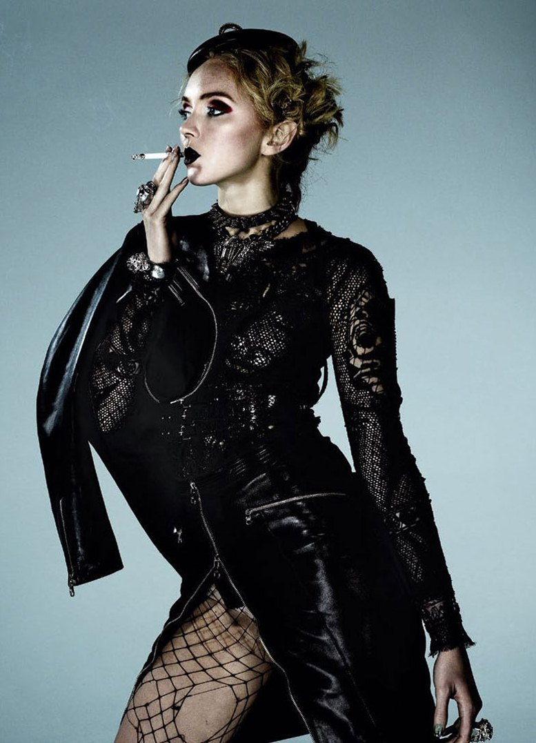 модель Лили Коул / Lily Cole, фотограф Damon Baker