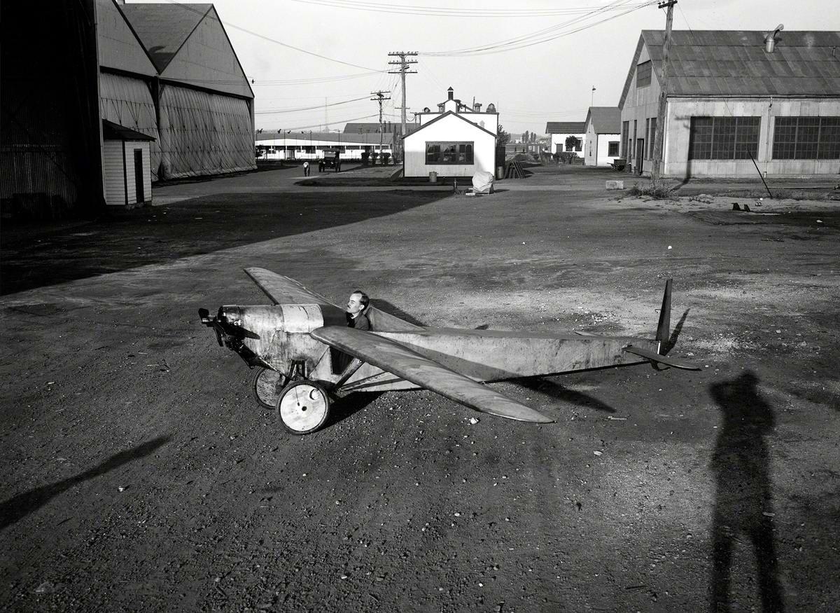 Самолеты и пилоты начала 20-го века на снимках американских фотографов (30)