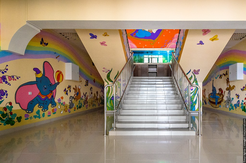 Холл детского сада своими руками