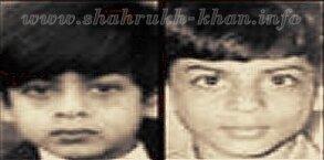 Шарукх Кхан в детстве