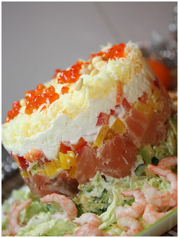 семужный тортик фото рецепт