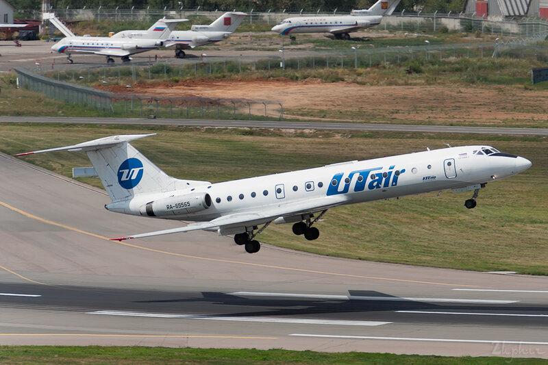 Туполев Ту-134А-3 (RA-65565) ЮТэйр DSC_2441