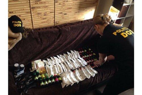Полиция пресекла нелегальную линию изготовления фармпрепаратов