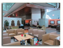 ОАЭ. Дубаи. Лаунж бизнес класса третьего терминала аэропорта Дубаи