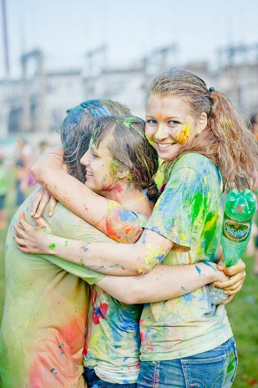 Фотографии с Фестиваля красок в Питере