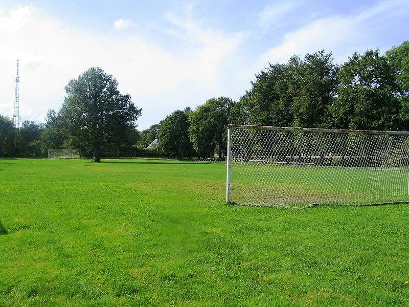 Футбольное поле на Саремаа