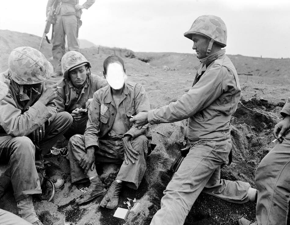 WWII IWO JIMA JAPANESE POW