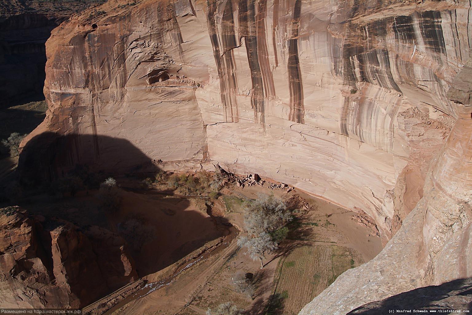 Chelly Canyon, Anasazi settlement.