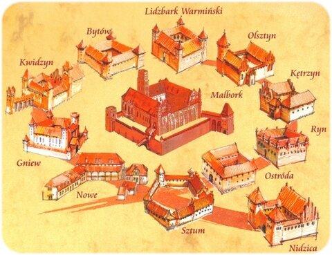 Маршрут готических замков