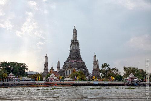 Wat Arun, храм зари в Бангкоке, Таиланд