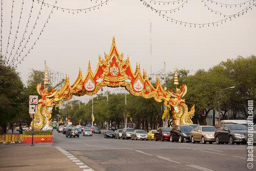 not touristic spots of Bangkok