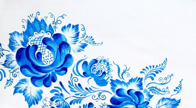 футболка Гжель - Футболка женская ...: soquv.freehostingo.com/vsyakie-foto/gzhel-nie-risunki