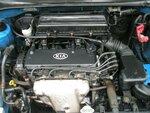 Контрактный двигатель б/у KIA RIO (Киа Рио) 1.5 16V, модель мотора A5D