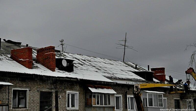 Омутнинск.Кладка вентиляционных шахт