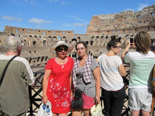 Рим Колизей форум