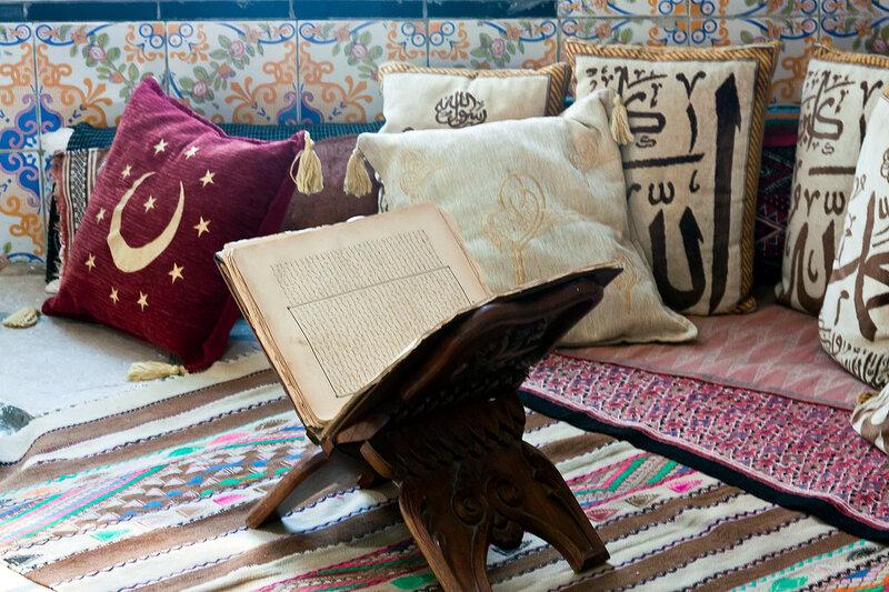 Тунис Сиди-бу-Саид музей тунисского быта