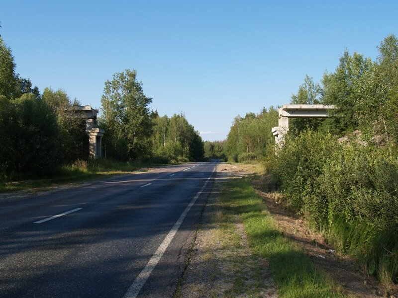 Недалеко от Шелухино, на Р115