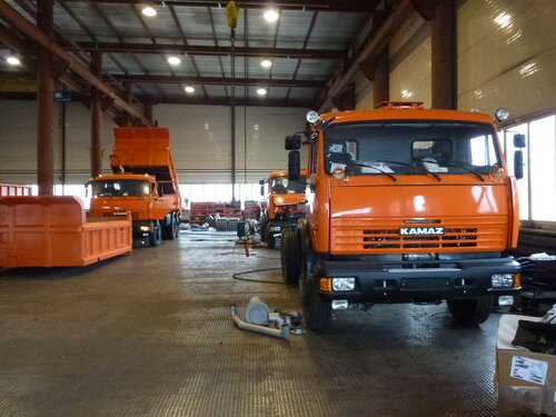 Монтаж грузовых кузовов на автомашину