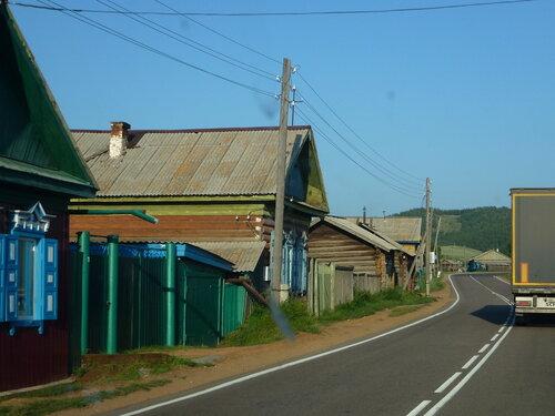 русская деревня в Бурятии