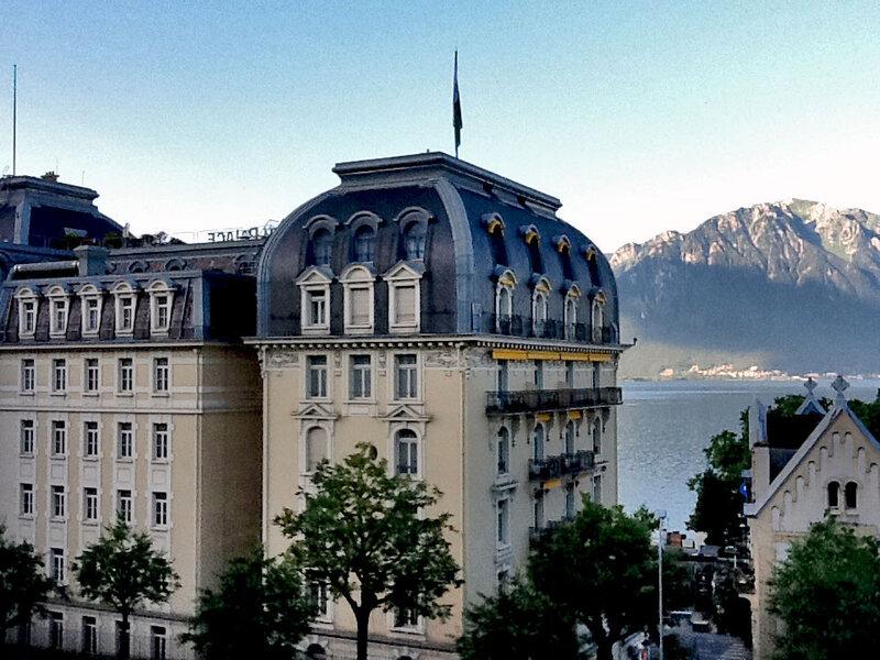 «Montreux Palace», где Владимир Набоков провел последние 17 лет жизни