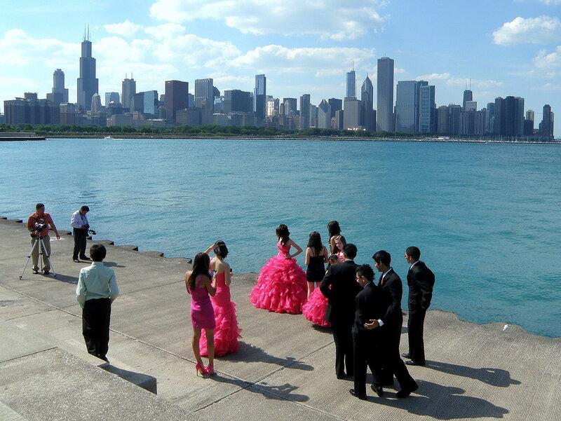 На набережной Чикаго