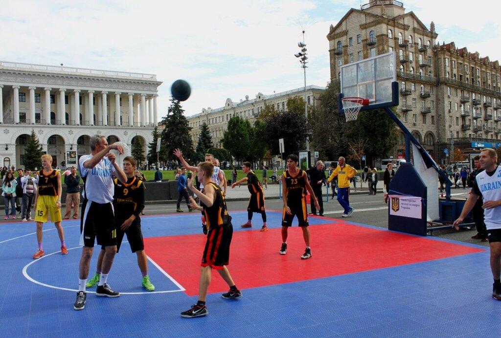 Баскетбол на Крещатике