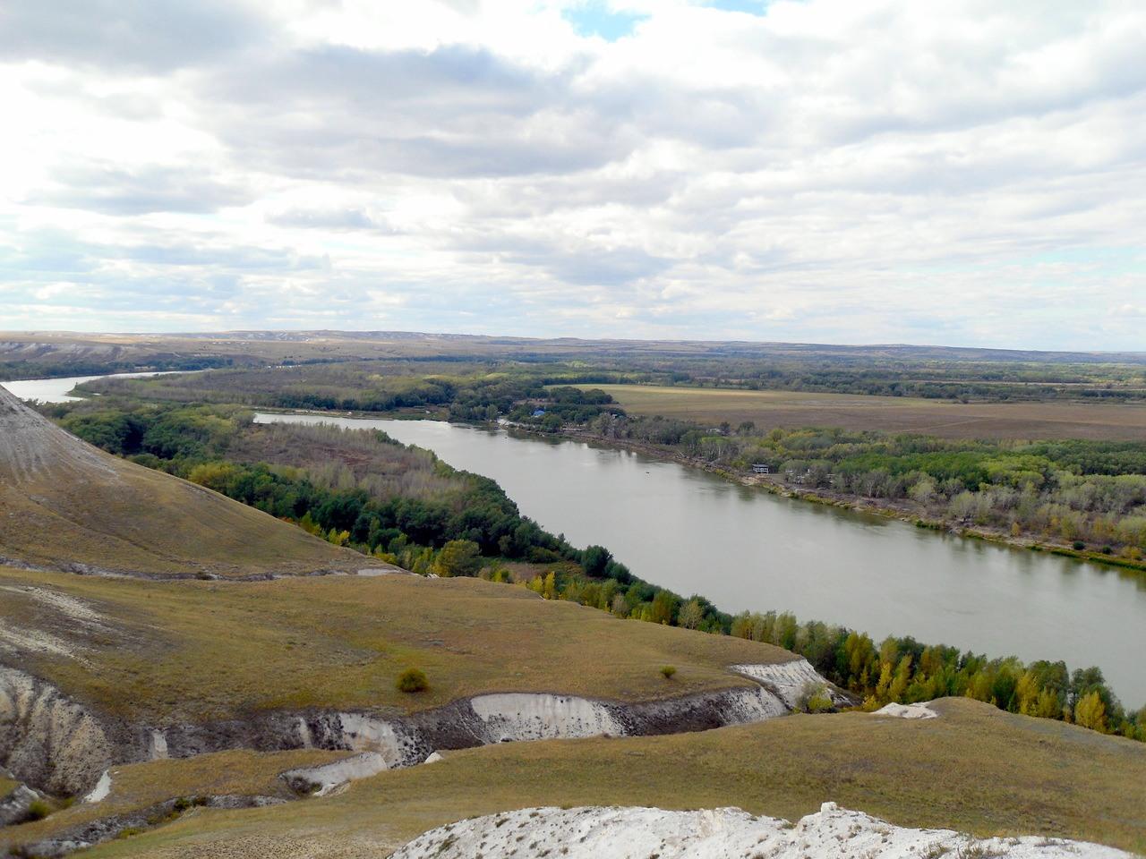 Река Дон.   Автор фото: deljfin26