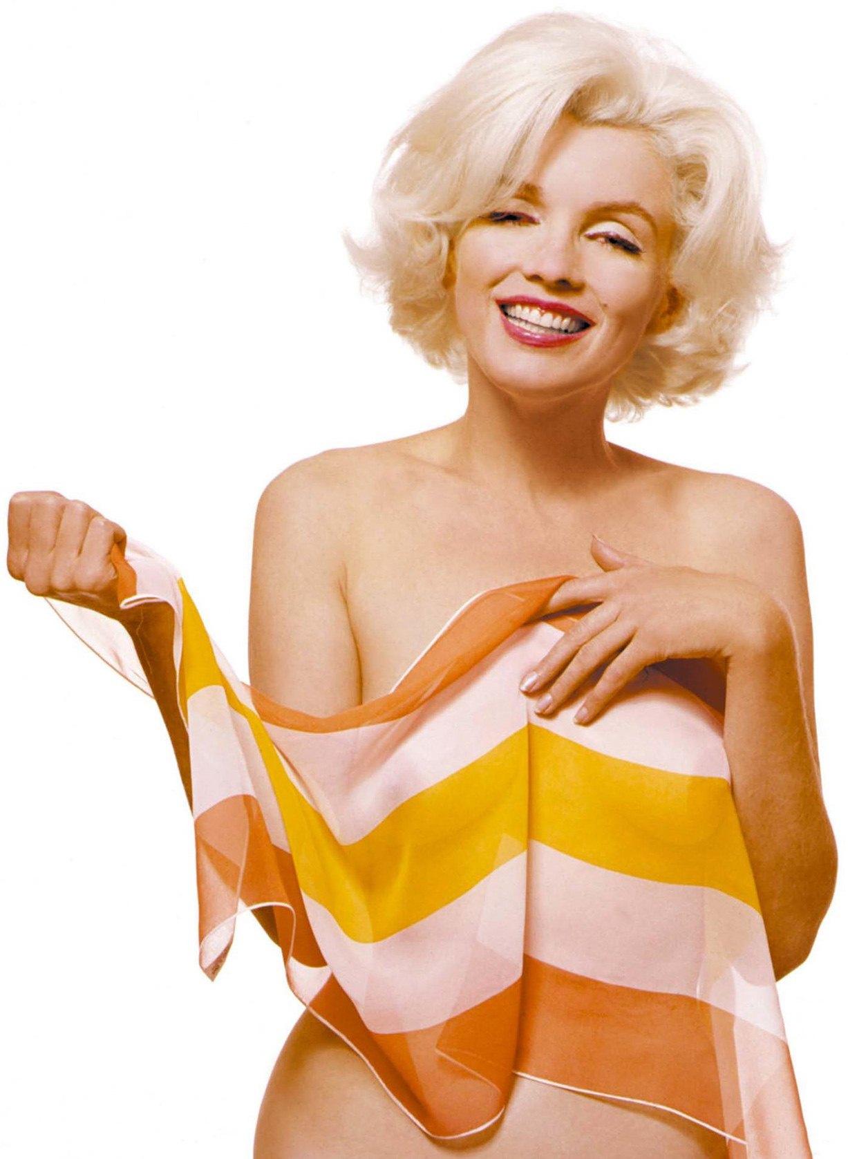 модель Мэрилин Монро / Marilyn Monroe, фотограф Bert Stern