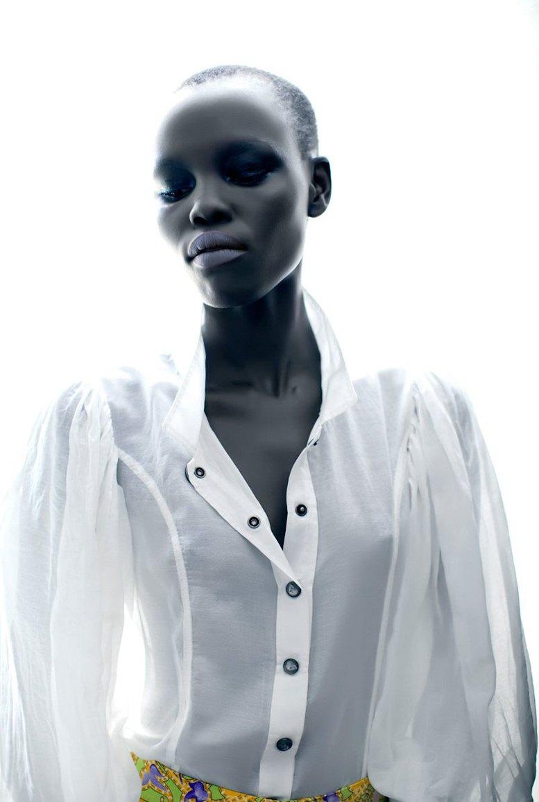 модель Грейс Бол / Grace Bol, фотограф Toto Cullen