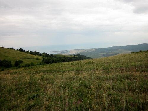 Вид на Геленджик с перевала