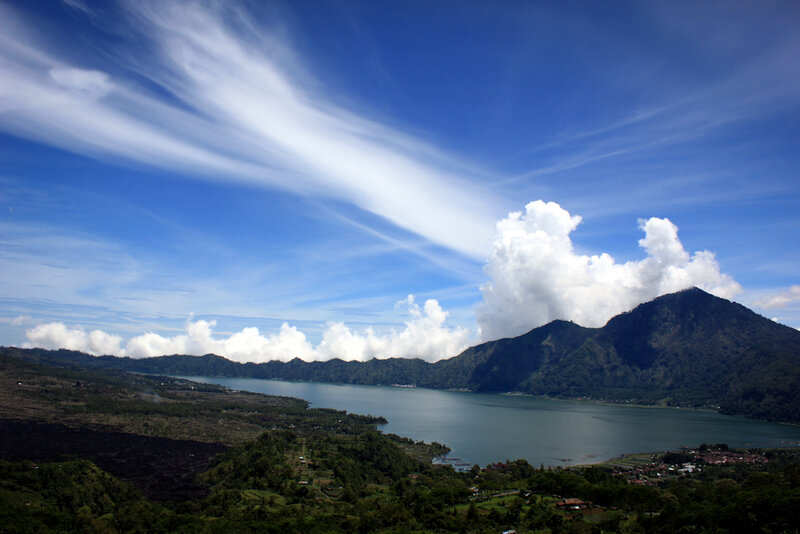 Kintamani. Lake Batur