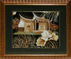 Набор для вышивания Пагода, Золотое руно НА-005 купить в санкт петербурге Шале, Aida 14, Счетный крест...
