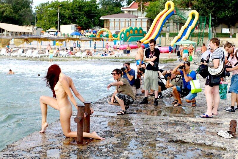 Видео разврат на пляже в одессе