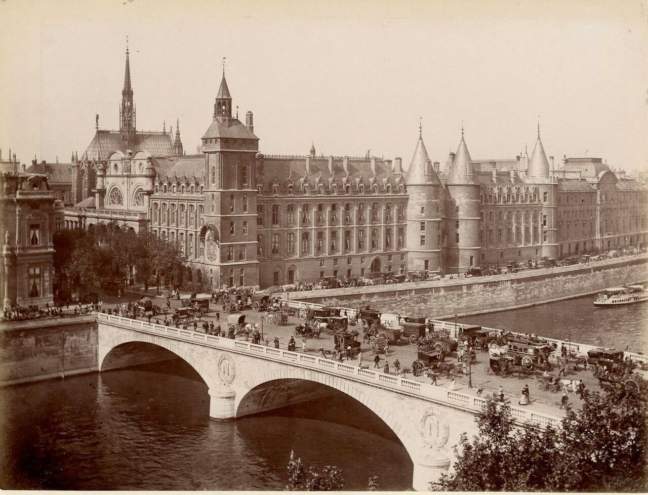 Мост Менял и Дворец юстиции
