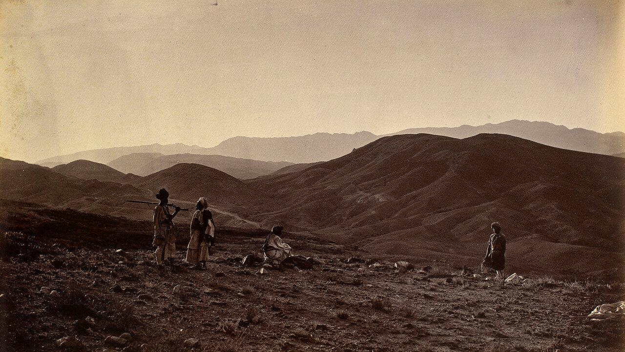 Холм, на котором был разбит 44-й (Восточный Эссекс) пехотный полк во время отступления из Кабула в 1842