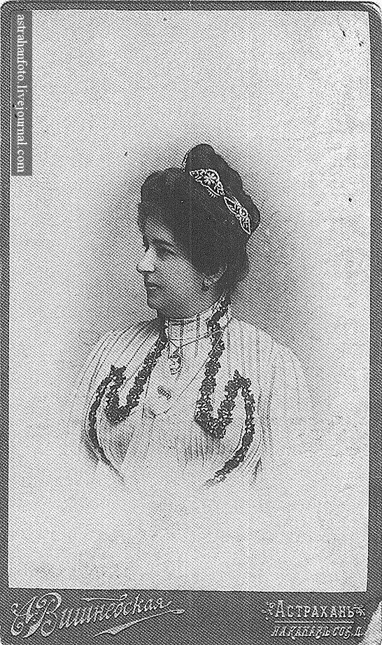 Портрет дамы. 1900-е годы.
